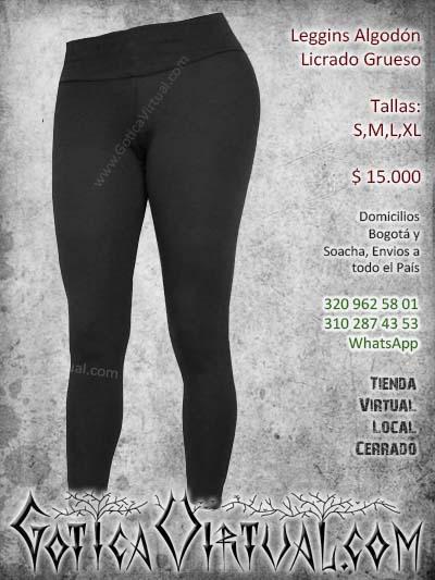 leggins bogota algodon licrado chicle pantalon grueso pretina ancha cali medellinn yopal domicilios colombia