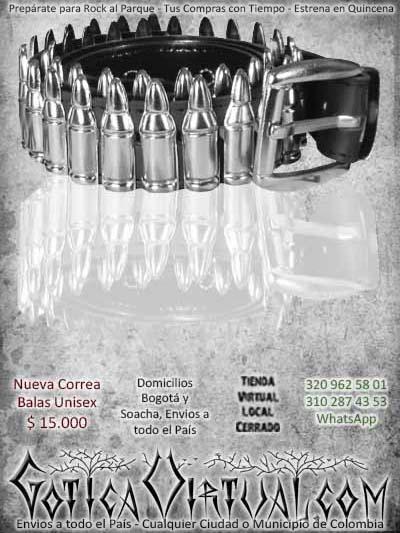 correa balas redondas planteadas bogota ventas online envios a todo el pais medellin cauca sucre narino cordoba rioacha colombia