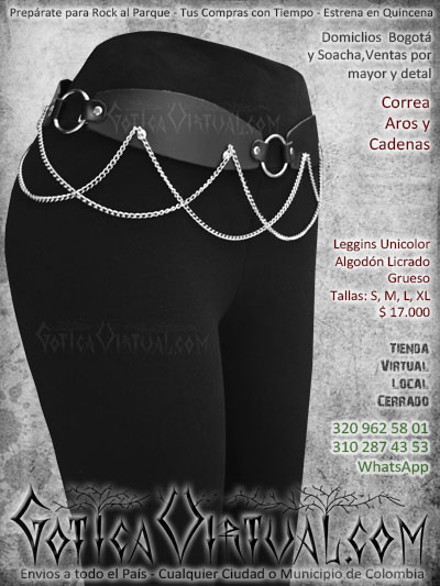 6ead700a6327 correa bogota rockera metalera femanina dama bonitos accesorios envios  juanchito envigado chigorodo tunja cucuta armenia pasto