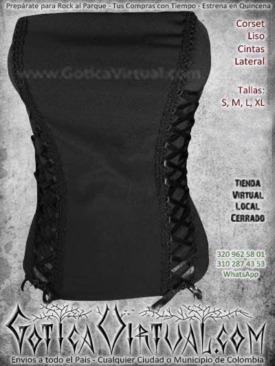 corset cintas laterales liso bogota femenino economico dark bodega ventas online envios a todo el pais cali cucuta cauca narino neiva tunja colombia