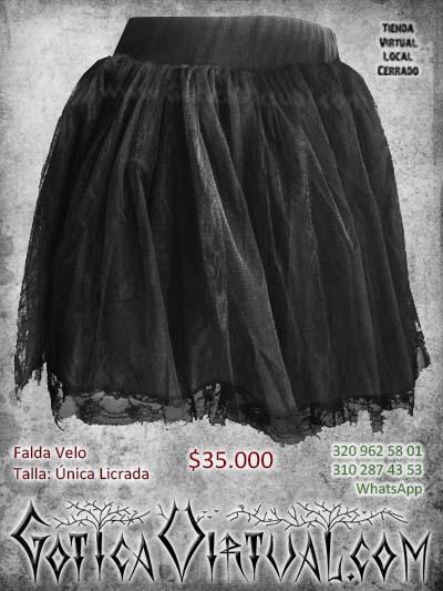 falda velo tutu negra mujer femenina economica bonita bogota bodega ventas online envios a todo el pais medellin cucuta neiva cauca manizales colombia